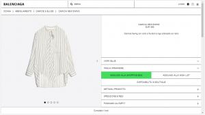 Minimal design: come nasce l'ecommerce Balenciaga?