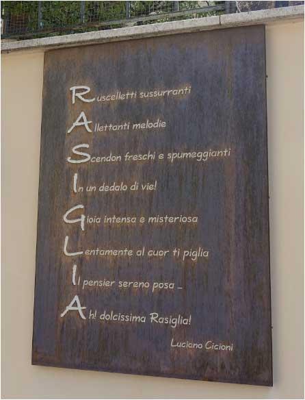 Rasiglia: il borgo poetico