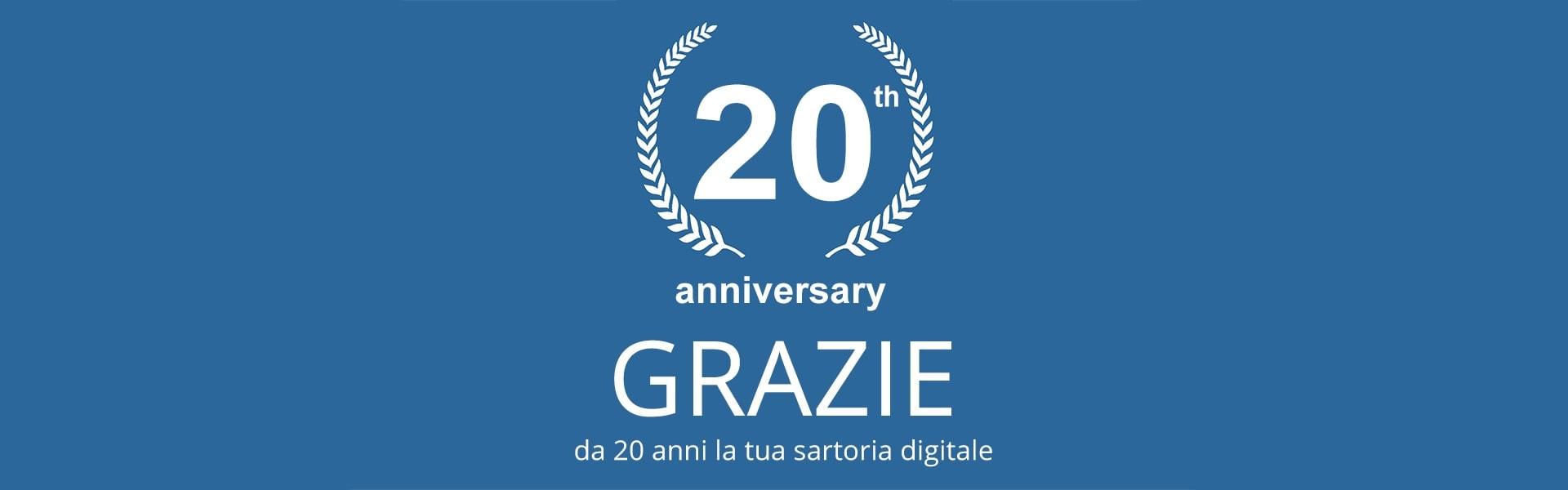 20 Anni di IMPRIMIS: la tua sartoria digitale