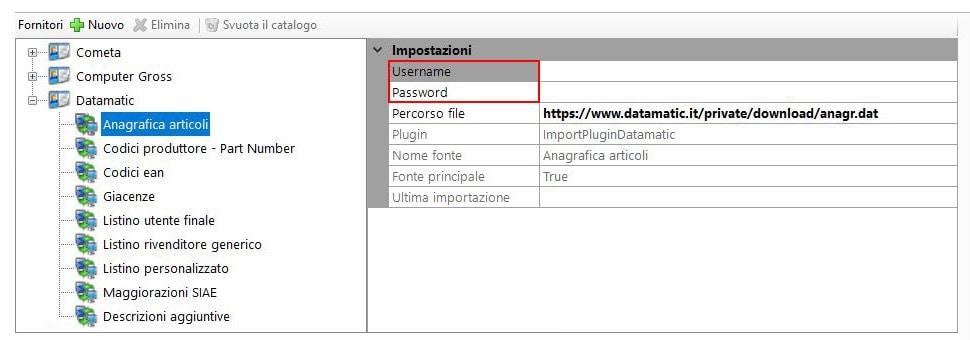 Datamatic: importare il catalogo con ImporterONE
